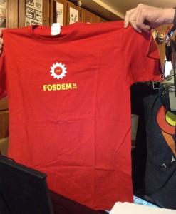 FOSDEM-tshirt