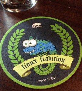 openSuse beer mats