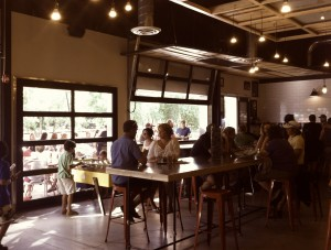 Sanitas Brewing tap room