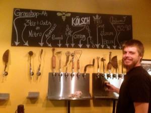 the taps at BRU