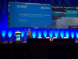 Jilayne at LinuxCon Europe